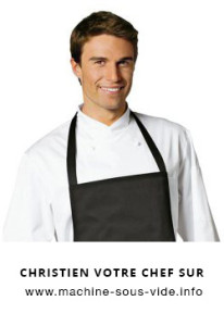 christien du site www.machine-sous-vide.info